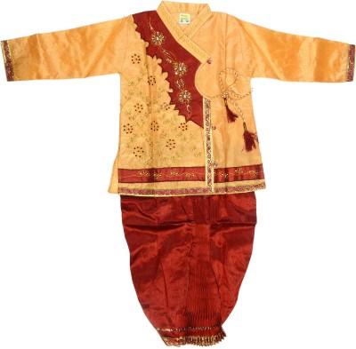 Riya fashion Boy's Dhoti & Kurta Set
