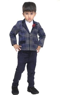 Bad Boys Baby Boy's Shirt, Waistcoat and Pant Set