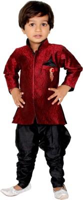 Tiny Toon Boy's Kurta and Breeches Set