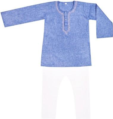 BownBee Baby Boy's Kurta and Pyjama Set