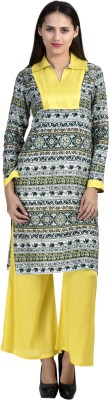 AHAANA FASHION Casual Printed Women's Kurti