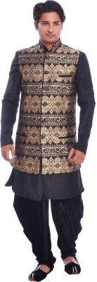 Sargam nx Men's Kurta, Waistcoat and Pyjama Set