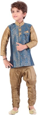 Jazzup Boy's Kurta and Pyjama Set