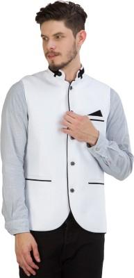 Burdy Men's Ethnic Jacket, Kurta and Pallazo Set