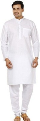 kem Flow Gold Men's Kurta and Churidar Set