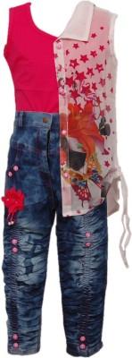 Kid's Stop Girl's Top and Skirt Set