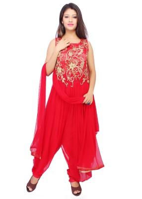 Adc-Amd Women's Kurta, Dhoti Pant & Dupatta Set