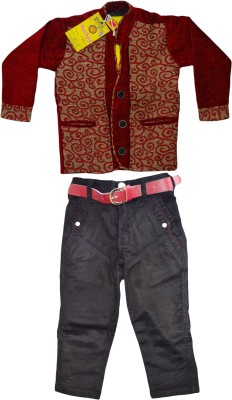 Smilee Boy,s Shirt, Waistcoat and Pant Set