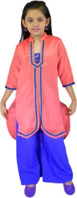SSMITN Girl's Kurta and Pyjama Set