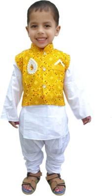 RTD Baby Boy,s Kurta, Waistcoat and Pyjama Set