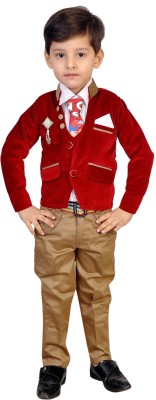 Kabeer Baby Boy,s Blazer, Shirt and Trouser Set