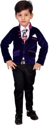 Kabeer Boy,s Blazer, Shirt and Trouser Set