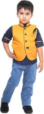Bad Boys Boy's Shirt, Waistcoat and Pant Set