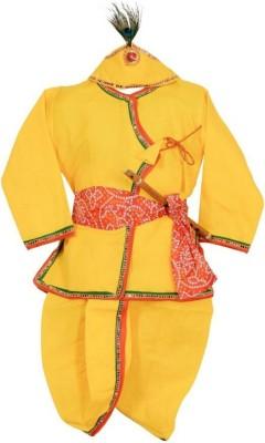Ishika Garments Boy's Kurta and Dhoti Pant Set