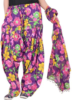 Bright & Shining Women's Patiala and Dupatta Set