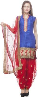 Ziesha Women's Kurti, Patiala and Dupatta Set