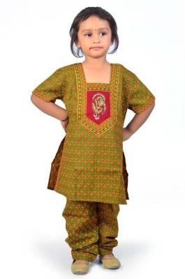 Great Art Girl's Salwar and Kurta Set