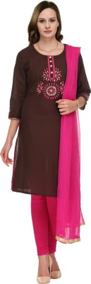 Tulsattva Women's Kurti, Legging and Dupatta Set