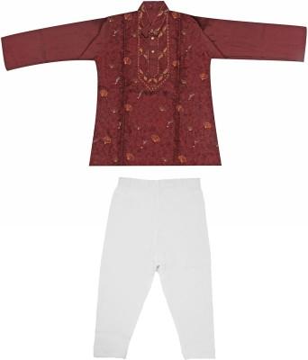 Babeezworld Baby Boy's Kurta and Pyjama Set
