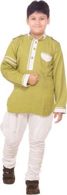 R Ladesir Boy's Kurta and Breeches Set