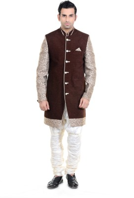 New Looks Men's Sherwani and Churidar Set