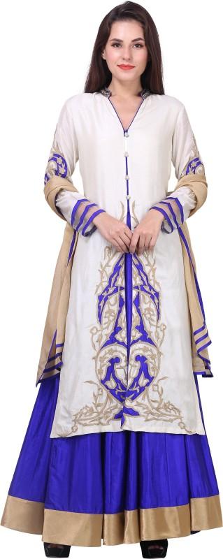 Mini Singh Women's Kurta, Dhoti Pant & Dupatta Set
