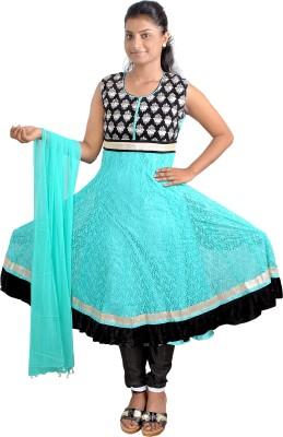 Gee & Bee Women's Kurti, Patiala and Dupatta Set