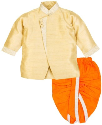 Mom & Me Baby Boy's Kurta and Dhoti Pant Set