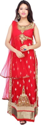 Adc-Amd Women's Churidar and Dupatta Set