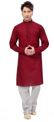 Ishin Men's Kurta and Pyjama Set