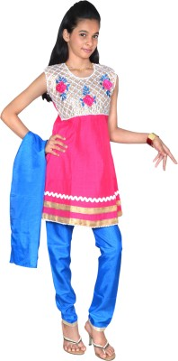 Gee & Bee Girl's Salwar and Kurta Set