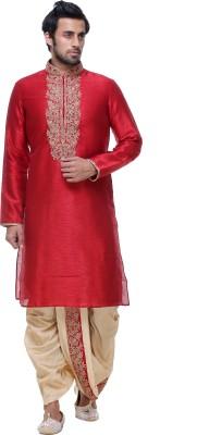 INDIAN POSHAKH Men's Kurta and Dhoti Pant Set