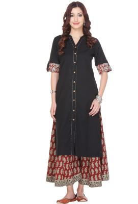 Varanga Embroidered Women,s Straight Kurta