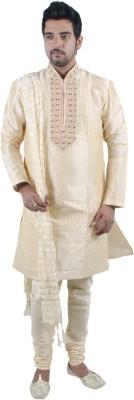 Rajwada Men's Kurta and Pyjama Set