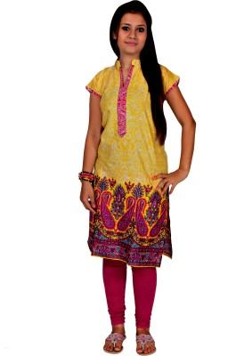 Mrignayaneei Women's Kurti and Legging Set