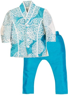 Mom & Me Boy's Kurta and Pyjama Set