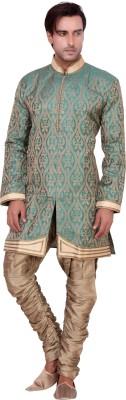 Shreesurani Men's Kurta and Breeches Set