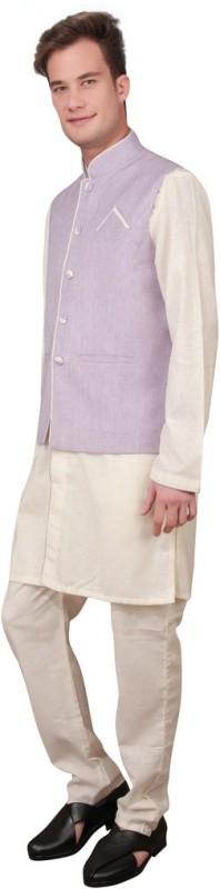 Ajay Arvindbhai Khatri Men's Kurta and Pyjama Set