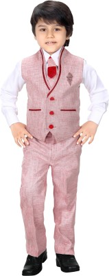 Jk Baby Boy's Blazer, Shirt and Trouser Set