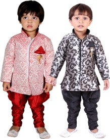 Tiny Toon Boys Kurta and Breeches Set