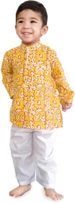Factorywala Baby Boy's Kurta and Pyjama Set