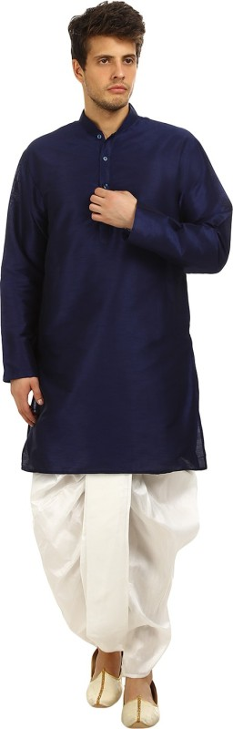 Khaan Saab Editions Men's Dhoti & Kurta Set