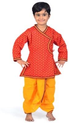 Great Art Boy's Angarkha and Dhoti Pant