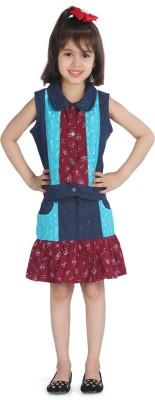 Posh Kids Girl's Top and Skirt Set