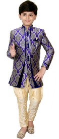 MFWN Designer Wear Boys Sherwani and Churidar Set