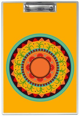 SKIN4GADGETS NA Skin4Gadgets Colorful floral Pongal background Designer Writing Pad Examination Pads(Set of 1, Muliticolor)