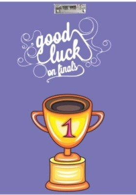 Printland Good Luck Exam Board PEB0100007 Examination Pads