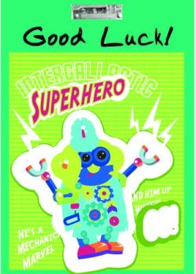 Printland Exam Board Superhero Examination Pads