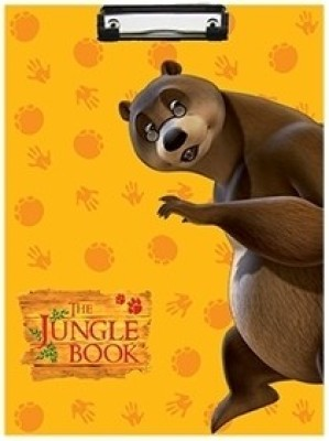 Jungle Book Baloo Examination Pad(Yellow)