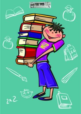 Printland Board Bundle Of Books Examination Pads